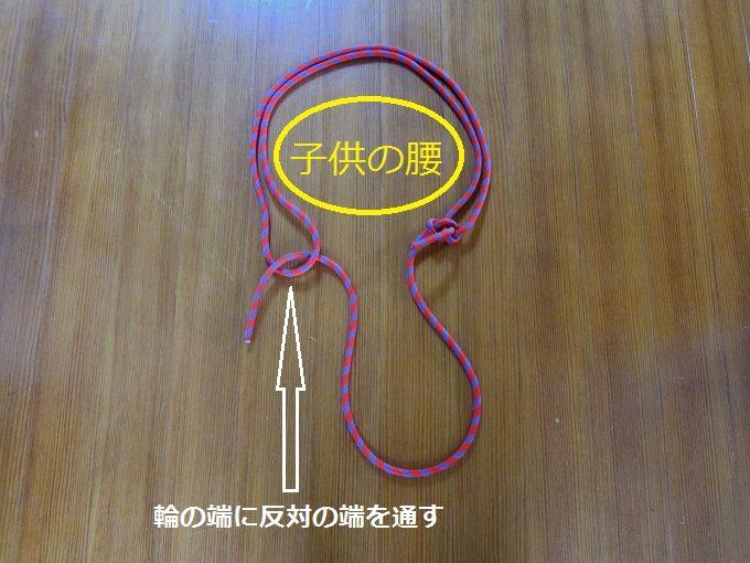 ロープの通し方